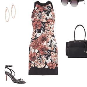 NWOT WHBM floral shift dress size XL